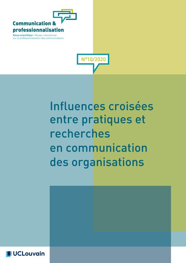 No 10 (2020): Influences croisées entre pratiques et recherches en communication des organisations